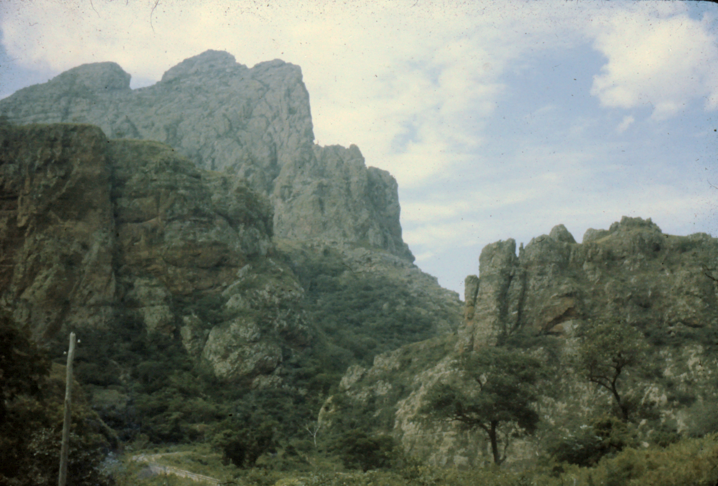 Ayoré land has many hills and low mountains.