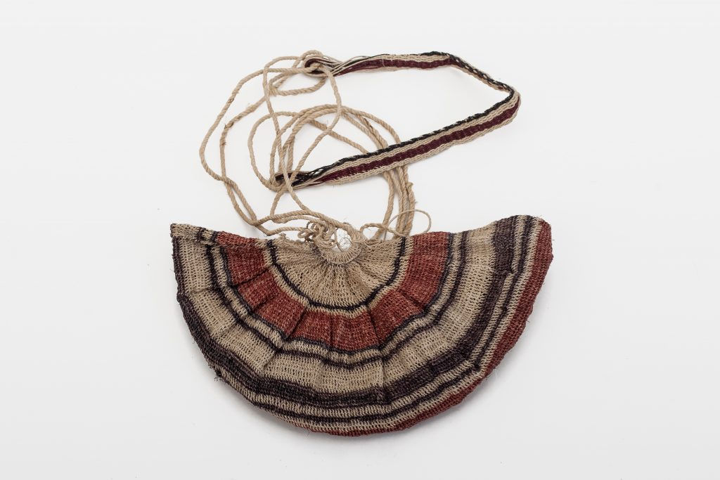 All of the bags that women carry are round and very large. The baby sling is made in the same shape but much smaller.
