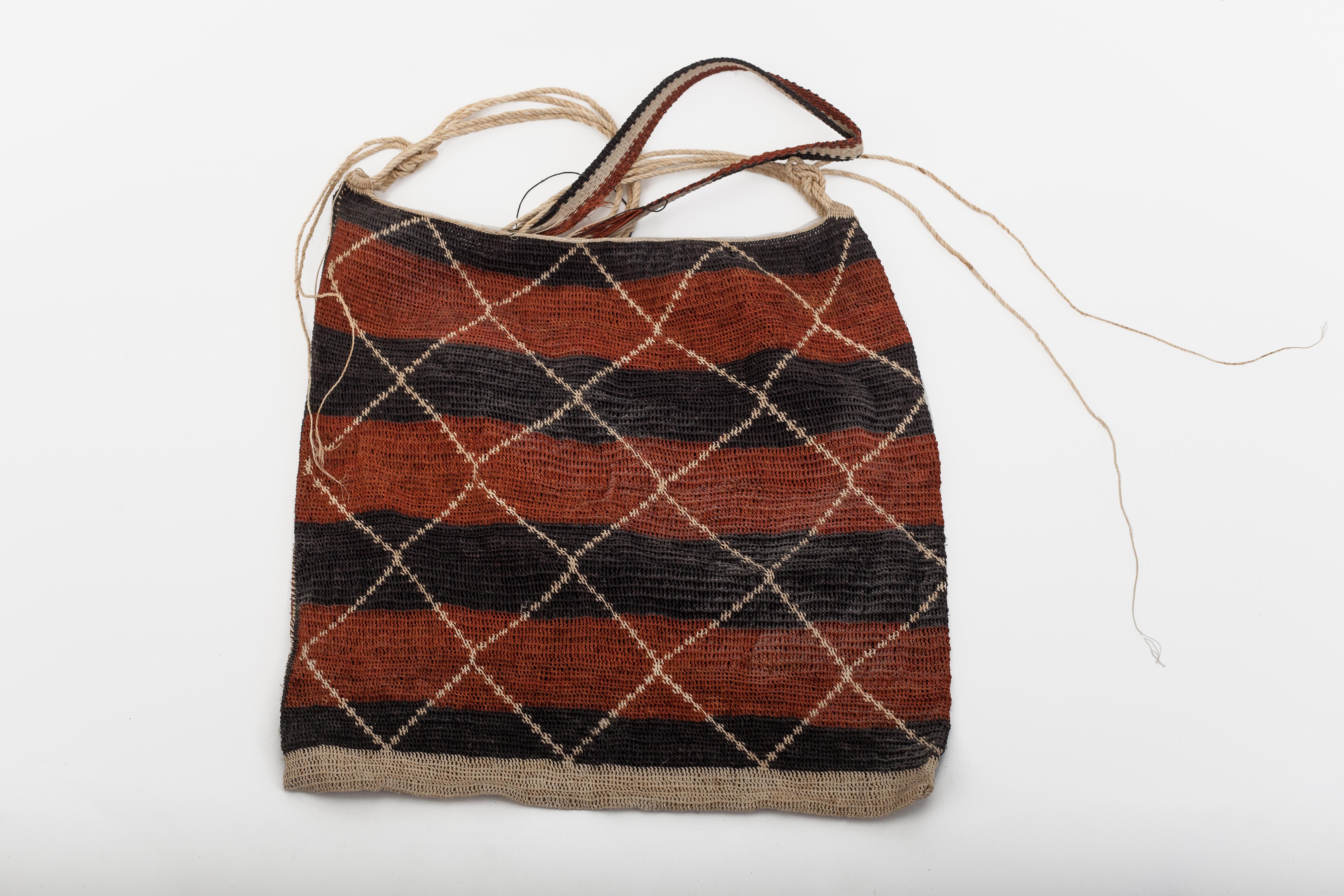 """Man's bag – design: """"rattlesnake""""."""