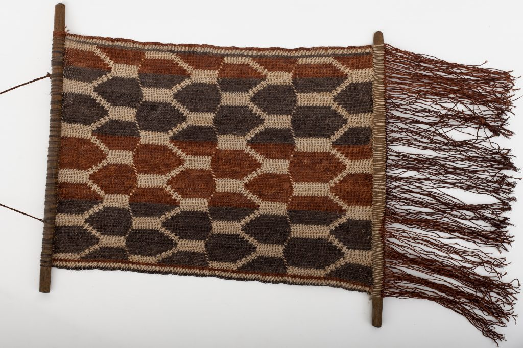 Wall-hanging, not done for ayoré use, but made for tourists, design: unknown.